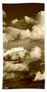 Stormy Skies In Socal Beach Towel