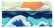 Stormy Waters Beach Sheet