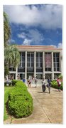 Stozier Library At Florida State University Beach Towel