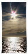 straits of magellan II Beach Towel