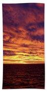 straits of magellan III Beach Towel