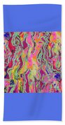 Strands Of Time  Beach Towel