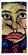 Strange Man Color Beach Towel