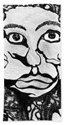 Strange Man Beach Towel