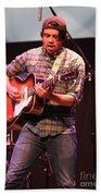 Strange Vine Guitarist Toby Cordova Beach Towel