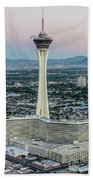 Stratosphere Casino Hotel And Tower Beach Towel
