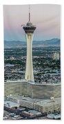 Stratosphere Casino Hotel And Tower Beach Sheet
