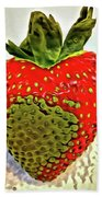 Strawberry Dreams Beach Towel