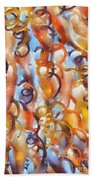 Streaming Life - Pastels Abstract Beach Towel