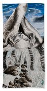 Streams Of Thought Beach Towel