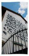 Street Art At The Campidoglio Neighborhood - 5 Beach Towel