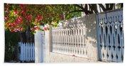 Street In Key West Beach Towel