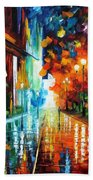 Street Of Hope Beach Towel