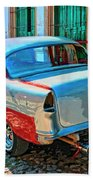 Street Racer Beach Towel