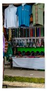 Street Shops At Ataco Beach Towel