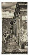 Streets Of Antigua - Guatemala Beach Towel