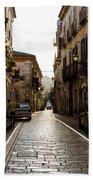 Streets Of Italy - Citta Sant Angelo 2 Beach Towel