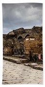 Streets Of Pompeii - 1a Beach Towel