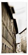 Streets Of Siena 2 Beach Towel