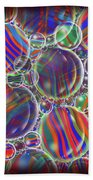 Striped Biggons Marbles Beach Towel