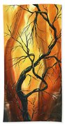 Striving To Be The Best By Madart Beach Towel by Megan Duncanson