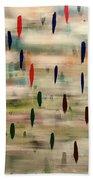 Stroke Of Color Beach Towel