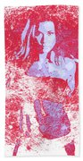 Strong Women 1 Beach Towel