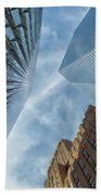 Structures Of Nyc 6  Beach Towel