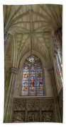 Structures Of St. Patrick Cathedral 3 Beach Towel
