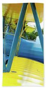 Struts And Wires  Beach Towel