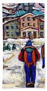 L'art De Mcgill University Tableaux A Vendre Montreal Art For Sale Petits Formats Mcgill Paintings  Beach Towel
