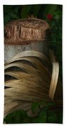 Stump And Frond Beach Towel