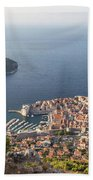 Stunning View Of Dubrovnik In Croatia Beach Towel