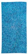 Su Gaia Rain  Beach Towel