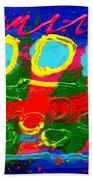 Sub Aqua IIi - Triptych Beach Towel