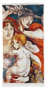 Subscribe To Hasten Peace By Victory Beach Towel by Paul Albert Besnard