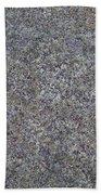 Subtle Lichen On Granite Texture Beach Towel