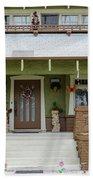 Suburban Arts And Crafts Style House Hayward California 15 Beach Towel