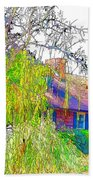 Suburban Home 3 Beach Towel