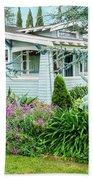 Suburban House Hayward, California 7, Suburbia Series Beach Towel