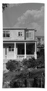 Suburban House On Hayward Boulevard Hayward California 2 Beach Towel