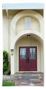 Modern Suburban House With Topiary Hayward California 31 Beach Towel