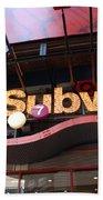 Subway Beach Sheet