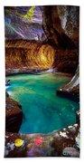 Subway Sanctum Beach Towel