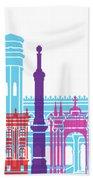 Sucre Skyline Pop Beach Towel