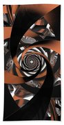 Suede Spiral Beach Towel