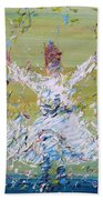 Sufi Whirling Beach Towel