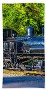 Sugar Pine Railway Train Beach Towel