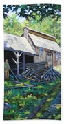 Sugar Shack In July Beach Towel