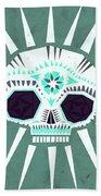 Sugar Skull IIi Beach Towel